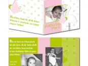 Babykarte Katharina