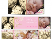 Babykarte Sarah