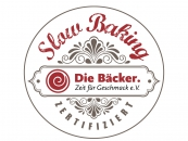 Logobutton Slow Baking Bäckerei Ihrenberger